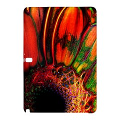 Abstract of an Orange Gerbera Daisy Samsung Galaxy Tab Pro 12.2 Hardshell Case