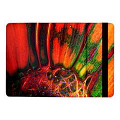 Abstract of an Orange Gerbera Daisy Samsung Galaxy Tab Pro 10.1  Flip Case