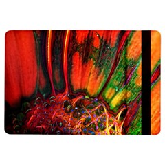 Abstract of an Orange Gerbera Daisy Apple iPad Air Flip Case