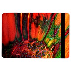 Abstract Of An Orange Gerbera Daisy Apple Ipad Air 2 Flip Case
