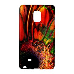 Abstract Of An Orange Gerbera Daisy Samsung Galaxy Note Edge Hardshell Case
