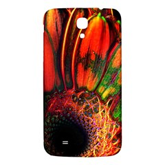 Abstract Of An Orange Gerbera Daisy Samsung Galaxy Mega I9200 Hardshell Back Case