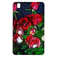 Abstract Red and White Roses Bouquet Samsung Galaxy Tab Pro 8.4 Hardshell Case