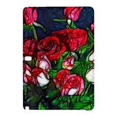Abstract Red And White Roses Bouquet Samsung Galaxy Tab Pro 12 2 Hardshell Case
