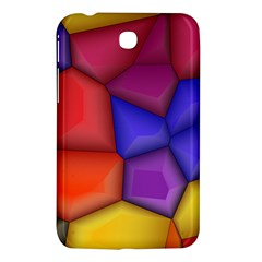 3d Colorful Shapes Samsung Galaxy Tab 3 (7 ) P3200 Hardshell Case