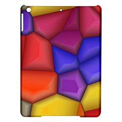 3d colorful shapes Apple iPad Air Hardshell Case