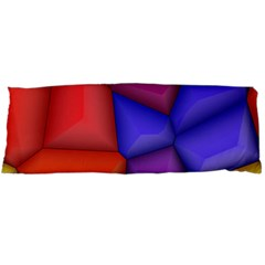 3d colorful shapes Body Pillow Case Dakimakura (Two Sides)