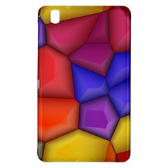3d colorful shapes Samsung Galaxy Tab Pro 8.4 Hardshell Case