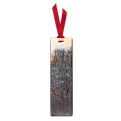 Abstract Sunset Tree Small Bookmark