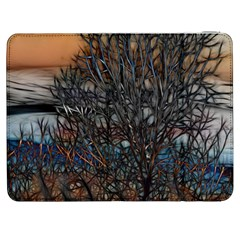 Abstract Sunset Tree Samsung Galaxy Tab 7  P1000 Flip Case