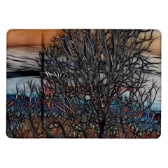 Abstract Sunset Tree Samsung Galaxy Tab 10.1  P7500 Flip Case