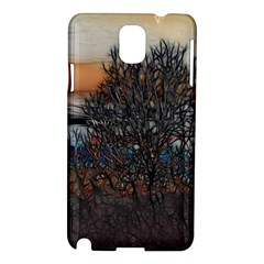 Abstract Sunset Tree Samsung Galaxy Note 3 N9005 Hardshell Case