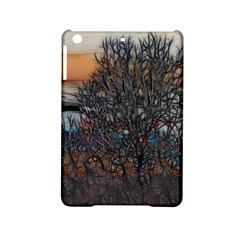 Abstract Sunset Tree Apple iPad Mini 2 Hardshell Case