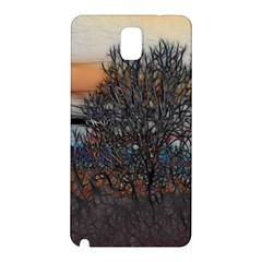 Abstract Sunset Tree Samsung Galaxy Note 3 N9005 Hardshell Back Case