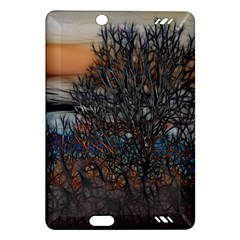Abstract Sunset Tree Kindle Fire HD (2013) Hardshell Case