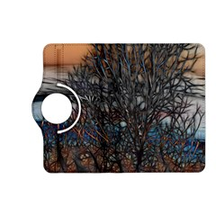 Abstract Sunset Tree Kindle Fire HD (2013) Flip 360 Case