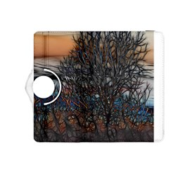Abstract Sunset Tree Kindle Fire HDX 8.9  Flip 360 Case