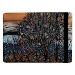 Abstract Sunset Tree Samsung Galaxy Tab Pro 12.2  Flip Case