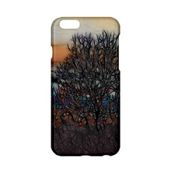 Abstract Sunset Tree Apple iPhone 6 Hardshell Case