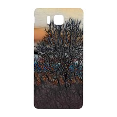 Abstract Sunset Tree Samsung Galaxy Alpha Hardshell Back Case