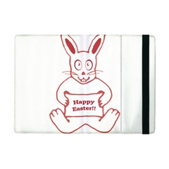 Cute Bunny With Banner Drawing Apple iPad Mini 2 Flip Case