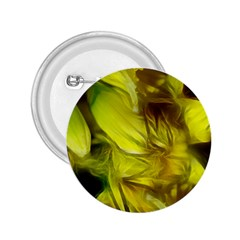 Abstract Yellow Daffodils 2 25  Button