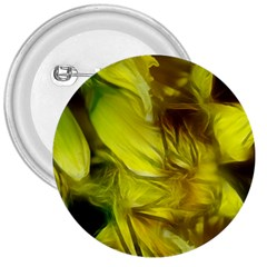 Abstract Yellow Daffodils 3  Button