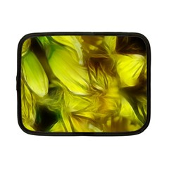 Abstract Yellow Daffodils Netbook Sleeve (small)