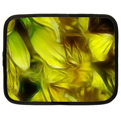 Abstract Yellow Daffodils Netbook Sleeve (xxl)