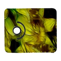 Abstract Yellow Daffodils Samsung Galaxy S  Iii Flip 360 Case