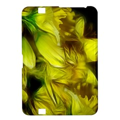 Abstract Yellow Daffodils Kindle Fire Hd 8 9  Hardshell Case