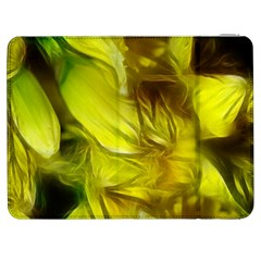Abstract Yellow Daffodils Samsung Galaxy Tab 7  P1000 Flip Case