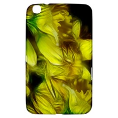 Abstract Yellow Daffodils Samsung Galaxy Tab 3 (8 ) T3100 Hardshell Case