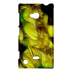Abstract Yellow Daffodils Nokia Lumia 720 Hardshell Case