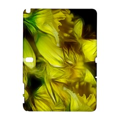Abstract Yellow Daffodils Samsung Galaxy Note 10 1 (p600) Hardshell Case