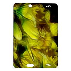 Abstract Yellow Daffodils Kindle Fire HD (2013) Hardshell Case