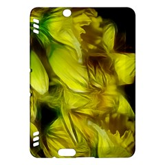 Abstract Yellow Daffodils Kindle Fire HDX Hardshell Case
