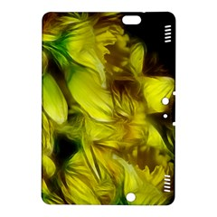 Abstract Yellow Daffodils Kindle Fire HDX 8.9  Hardshell Case