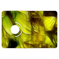 Abstract Yellow Daffodils Kindle Fire Hdx Flip 360 Case