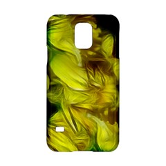 Abstract Yellow Daffodils Samsung Galaxy S5 Hardshell Case