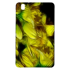 Abstract Yellow Daffodils Samsung Galaxy Tab Pro 8.4 Hardshell Case