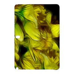 Abstract Yellow Daffodils Samsung Galaxy Tab Pro 12.2 Hardshell Case