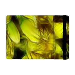 Abstract Yellow Daffodils Apple iPad Mini 2 Flip Case