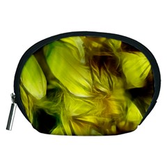 Abstract Yellow Daffodils Accessory Pouch (medium)