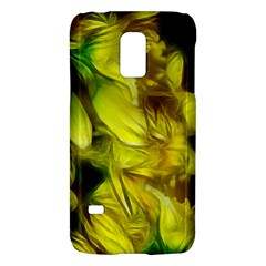 Abstract Yellow Daffodils Samsung Galaxy S5 Mini Hardshell Case