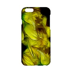 Abstract Yellow Daffodils Apple iPhone 6 Hardshell Case