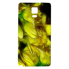 Abstract Yellow Daffodils Samsung Note 4 Hardshell Back Case