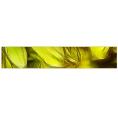Abstract Yellow Daffodils Flano Scarf (Large)