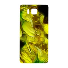 Abstract Yellow Daffodils Samsung Galaxy Alpha Hardshell Back Case