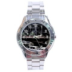Adams Street Bridge Stainless Steel Watch